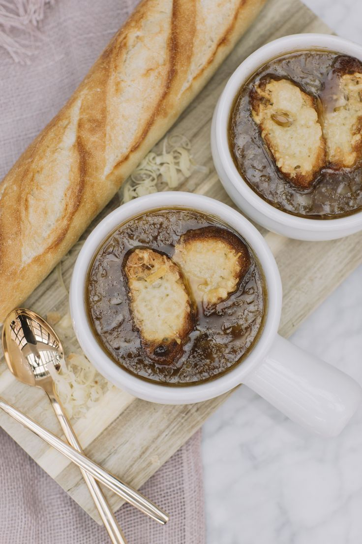The Perfect French Onion Soup by Chef Sylvain Assie of Café Boulud