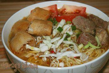Soto Mie Bogor (Bogor Noodle Soup)
