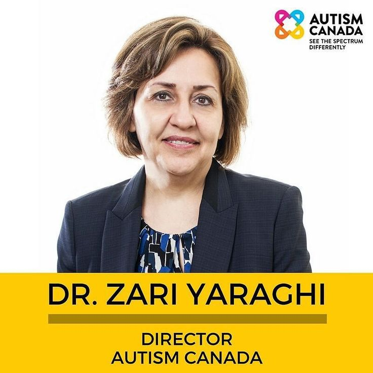 #MeetTheTeam Zari is also a member of Autism Canada's Professional Advisors Committee.