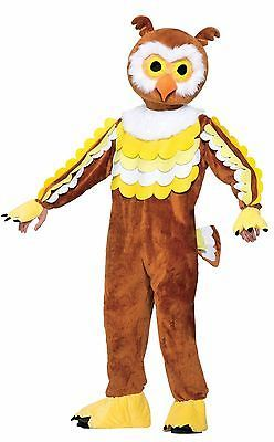 Halloween Costumes: Give A Hoot Owl Plush Mascot Halloween Costume Adult Std Size Bird Animal New -> BUY IT NOW ONLY: $49.99 on eBay!