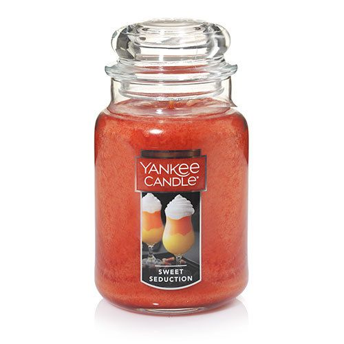 Sweet Seduction Large Classic Jar Candles - Yankee Candle ... A sweet concoction of everything yummy—vanilla cream, luscious caramel, even a dash of rum. Irresistible!