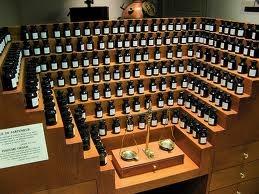a very organised perfume organ!