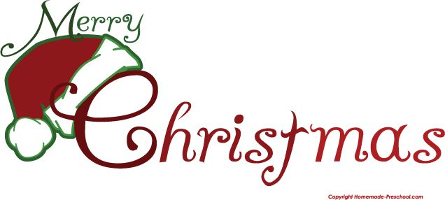 Merry Christmas Nativity Clip Art | merry-christmas-clip-art-merry-christmas-santa-hat.png