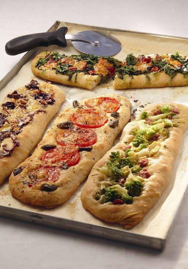 Sfilatini ripieni con diverse verdure di stagione. http://www.alice.tv/pizza-focacce/sfilatini-verdure