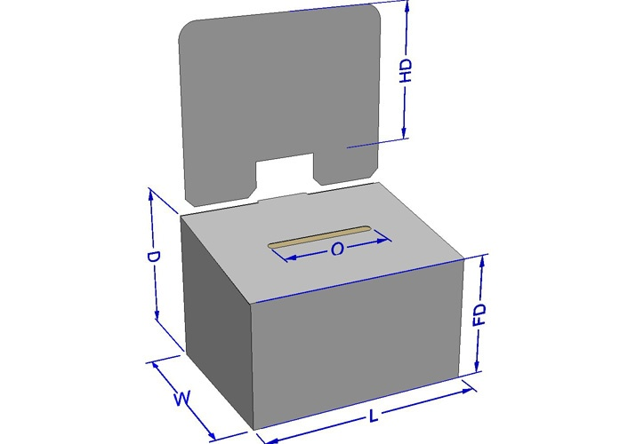 Corrugated Ballot Box