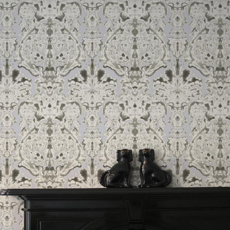 Timorous Beasties Dam Classic Wallpaper | Houseology