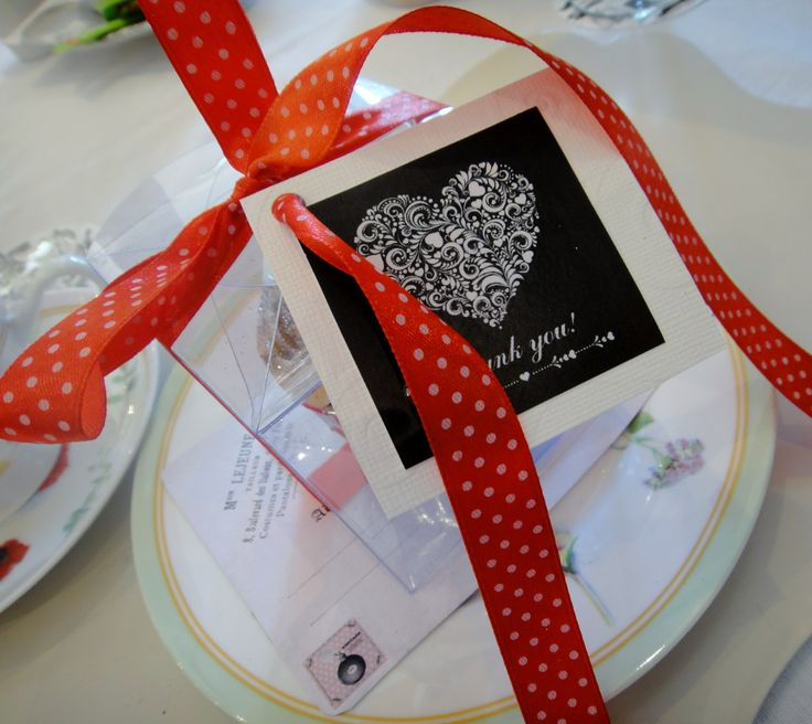 Party Favours with Thank You Tags