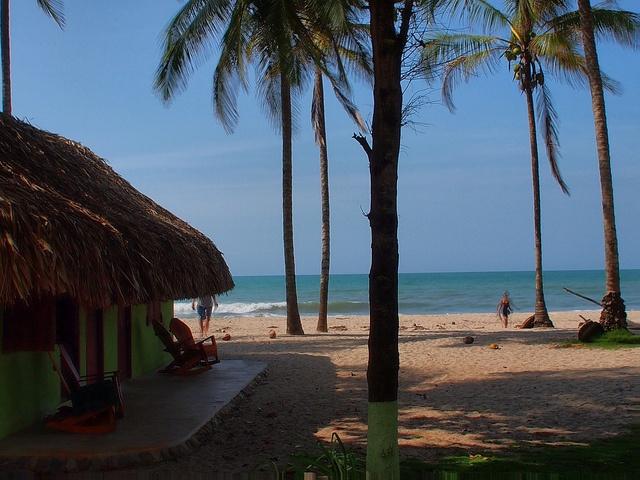 Colombial En la Guajira, Palomino, hay playas de varios kilómetros.  Vagamundos 2012 by Vagamundos.net/Carlos Olmo, via Flickr