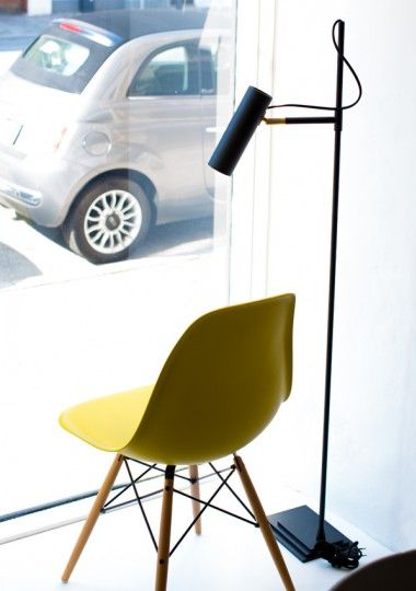 The Nomad floor lamp by Niclas Hoflin for Rubn