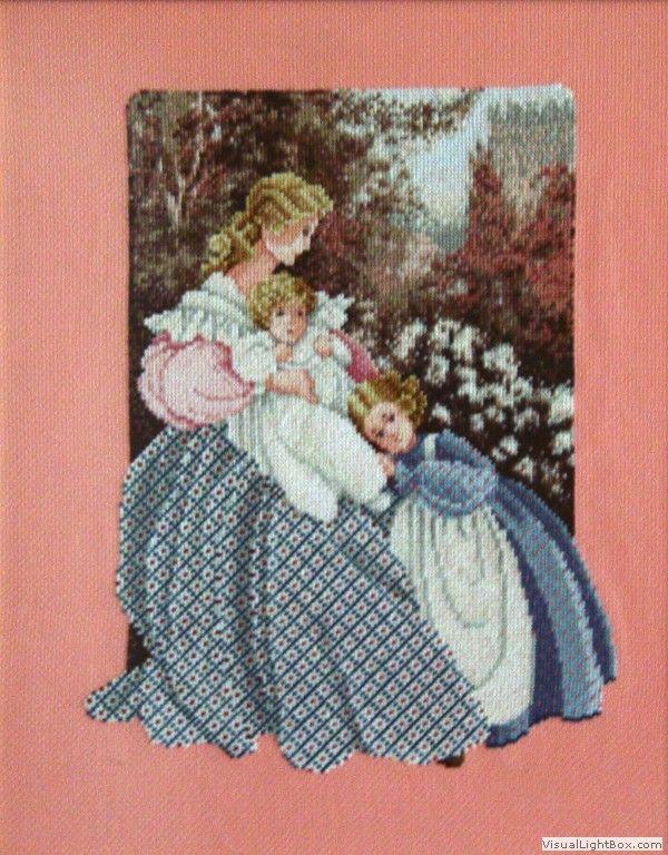 Dama con niños (Scarlett's Creaciones)