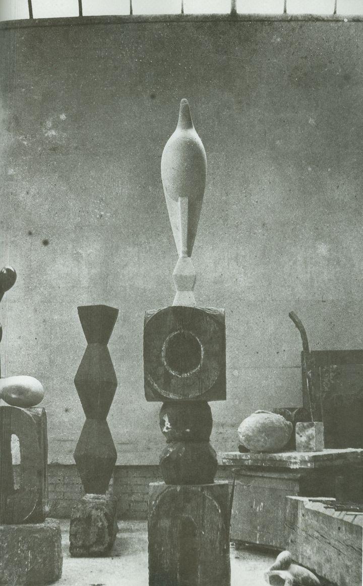 Maiastra, 1915 - 1918, Constantin Brancusi