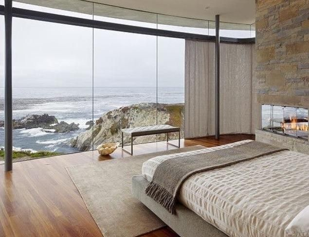 Bedroom with a dream view