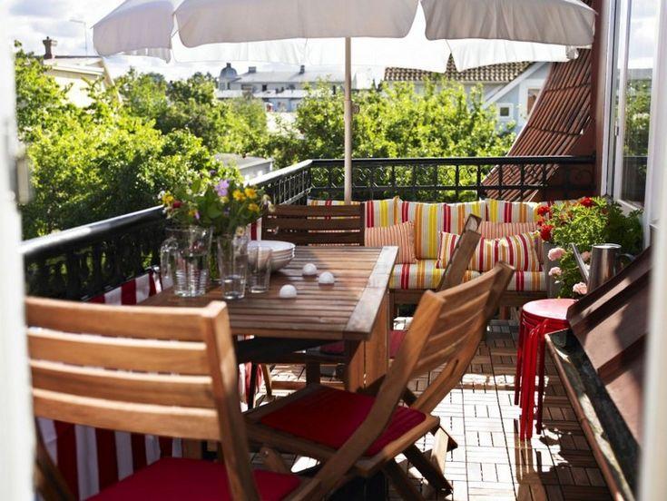17 best images about balkon on pinterest deko satin and wands. Black Bedroom Furniture Sets. Home Design Ideas