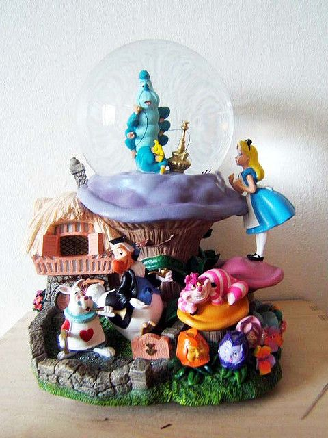 alice in wonderland things | Alice In Wonderland Snowglobe | Flickr - Photo Sharing!