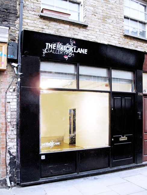 THE BRICK LANE GALLERY LONDON | CONTEMPORARY | STREET ART BANKSY | FAILE | JAMIE HEWLETT