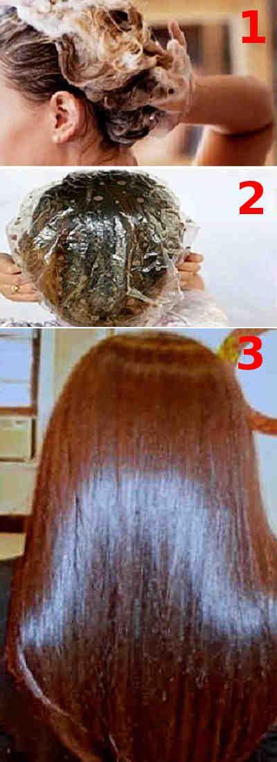 Ponte esta mascarilla para el pelo y espera 15 minutos