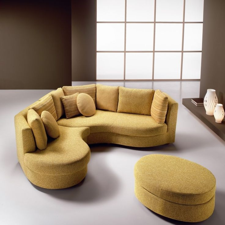 Pin On Couches Iike, Faux Leather Curved Sectional Sofa