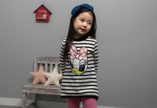 Korea children's No.1 Shopping Mall. EASY & LOVELY STYLE [COOKIE HOUSE] Sweet thanks dangara Long tee / Size : 5-13 / Price : 29.00 USD #dailylook #dailyfashion #fashionitem  #kids #kidsfashion #tops #longT #TEE #MTM #stripeT #dress #COOKIEHOUSE #OOTD http://en.cookiehouse.kr/ http://cn.cookiehouse.kr/ http://jp.cookiehouse.kr/