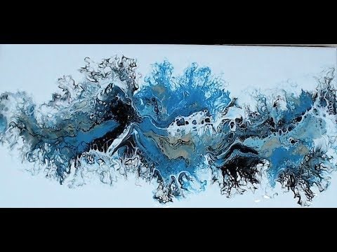 (265) Turning and Pulling – Acrylic Pouring – YouTube