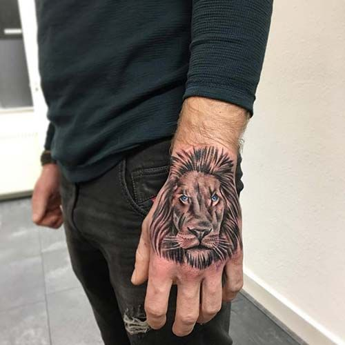 1000 ideas about lion hand tattoo on pinterest mens. Black Bedroom Furniture Sets. Home Design Ideas