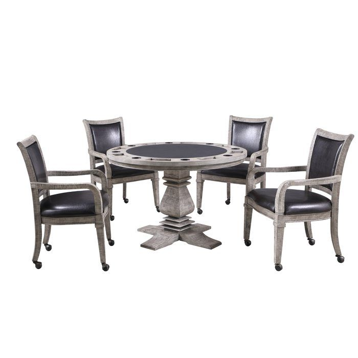 48 Glynda Poker Table Table Game Room Furniture Stylish Chairs