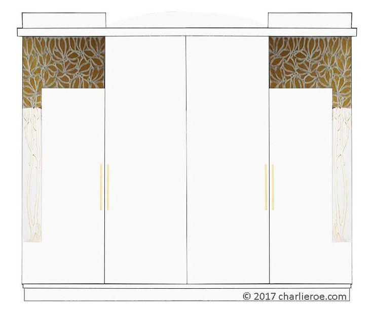 15 Must-see Art Nouveau Bedroom Pins