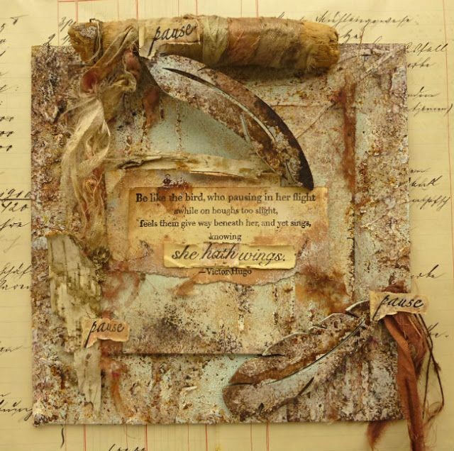 PaperArtsy: NEW {Eclectica³ Sara Naumann} with Lynne Moncrieff