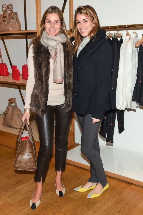 Aerin Lauder (on the left) - love this look.