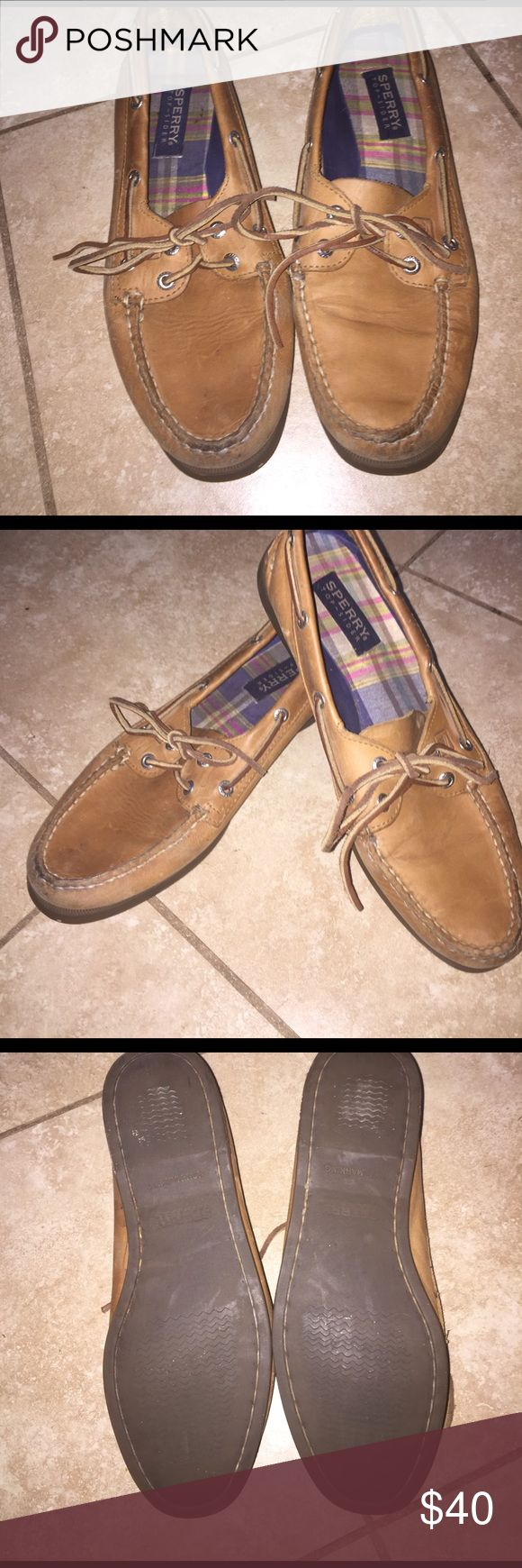Selling this Chestnut sperry top sider boat shoes on Poshmark! My username is: kpriceisright02. #shopmycloset #poshmark #fashion #shopping #style #forsale #Sperry Top-Sider #Shoes