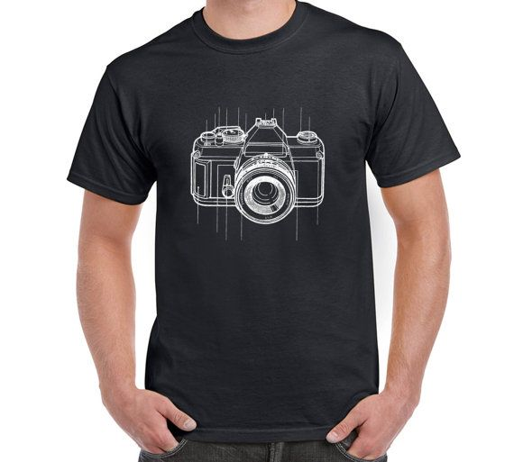 Camera T Shirt Camera Digital Camera by FreakyTshirtShop on Etsy