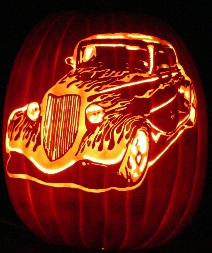 Best car inspired pumpkins images on pinterest jeep