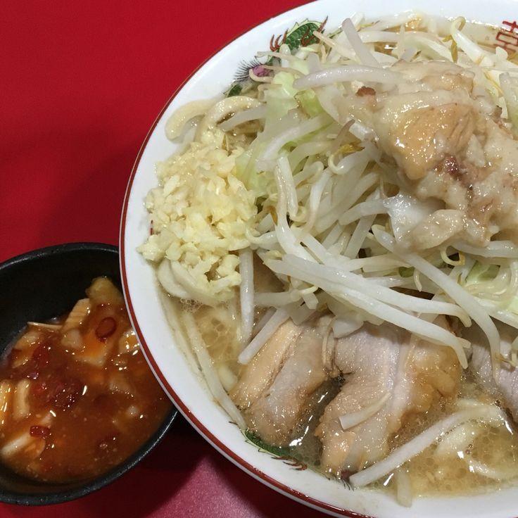 二郎(札幌店)の小(豚2枚)+タマチ