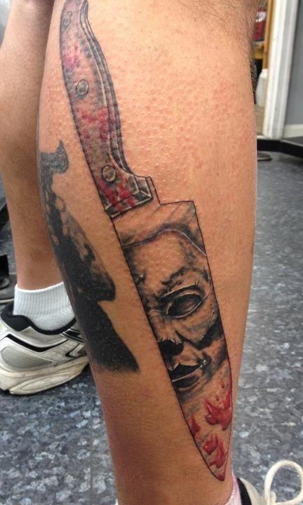 Michael Myers: Halloween tattoo (#horror)