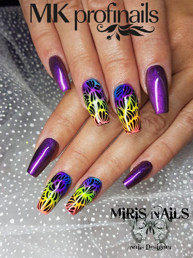 Nails#colors#black#lovenails#