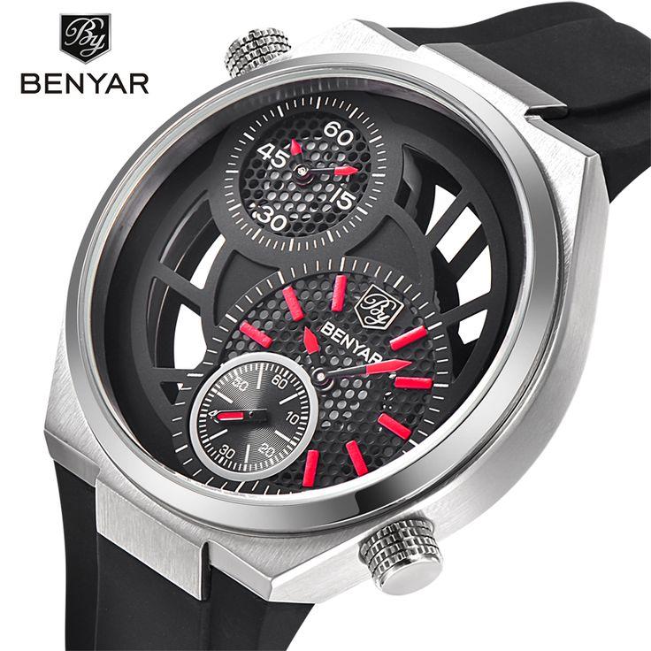 US $63.00 - 2017 BENYAR Stylish Watch Men Luxury Brand Men's quartz-watch Waterproof Clock Men Wrist watches Relogio Masculino reloj hombre