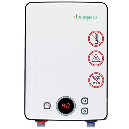 Sio Green Ir30 Pou Electric Tankless Water Heater Infrared Tank Less Instant Hot Water Heater Electric Water Heater