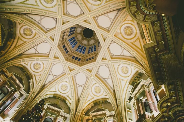 Our wedding ceremony held in a stunning gothic building in central Melbourne