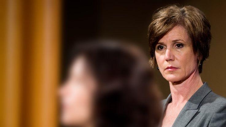 Trump entlässt kommissarische Justizministerin Solchen Widerstand duldet der US-Präsident nicht: Sally Yates hatte ihr Ministerium angewiesen, Trumps Einreiseverbot nicht zu verteidigen. Kurz danach musste sie gehen. 31. Januar 2017, 3:23 Uhr