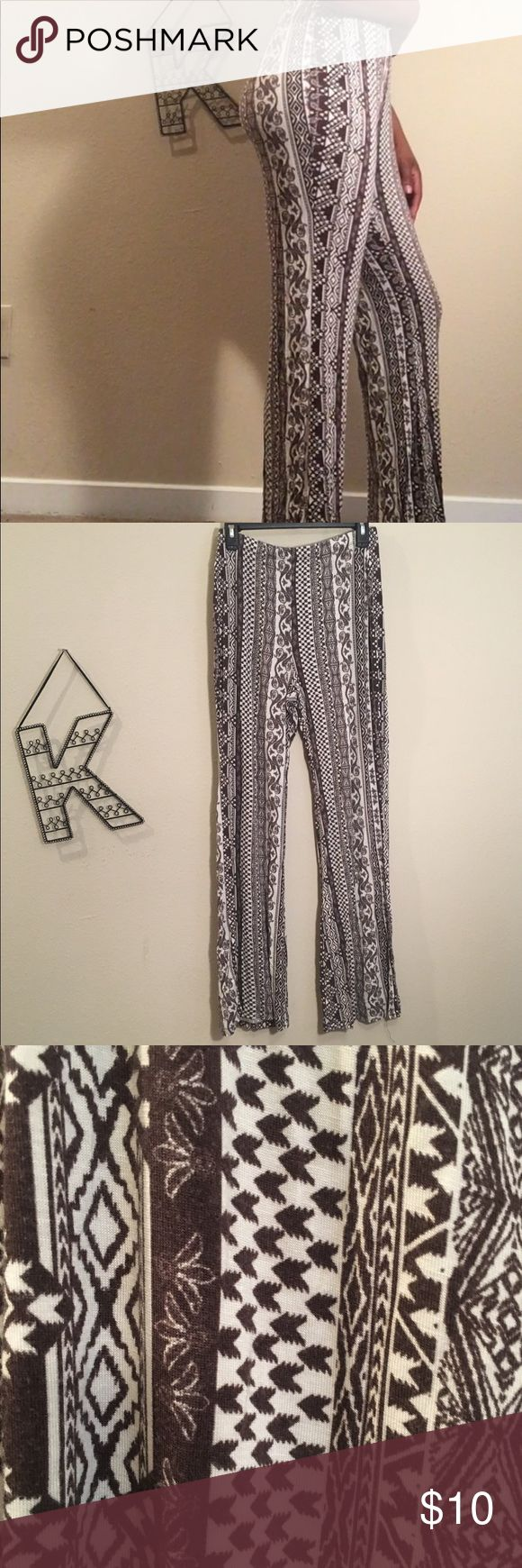 Tribal print pants Stretchy tribal print pants, size small, Cato Cato Pants Boot Cut & Flare