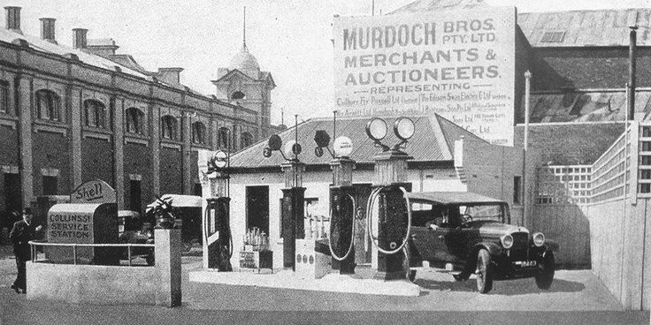 Collins Street Garage in Hobart 1928, Budgie Smugglers of yesteryear