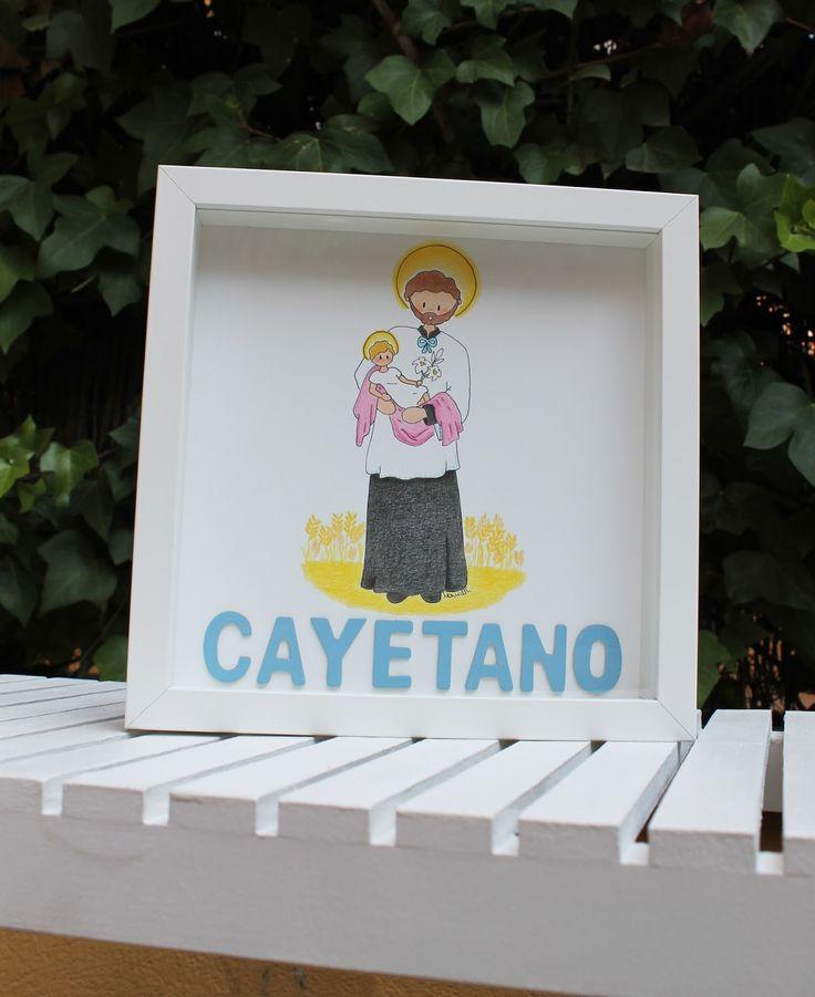 Cuadro Infantil de San Cayetano!