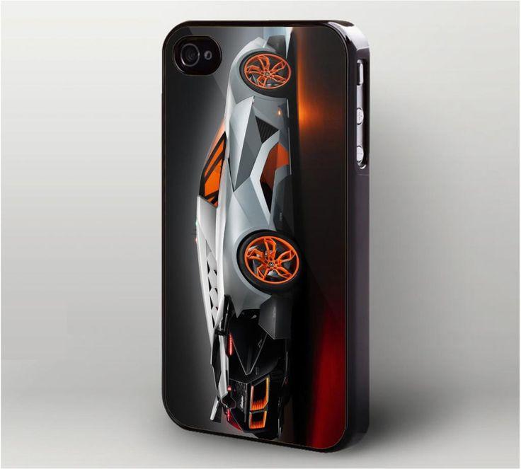 Lamborghini Egoista Sport Car iPhone 4 Case, iPhone