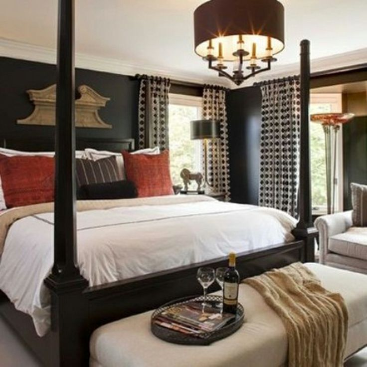 389 best images about romantic bedroom valentine 39 s day 2014 on pinterest sexy master - Masculine bedroom design ...