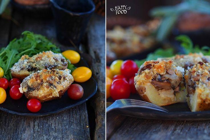 Potate ripiene - Запеченный фаршированный картофель: my_happyfood