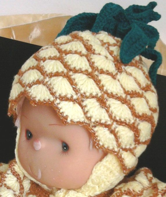 Knitted hand made crocheted cap in shape от BaByPrOdUcTsByGaLiNa