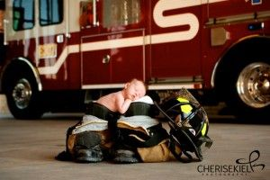 For the fire fighters babies I love to photograph. Will HAVE to do with our next one!