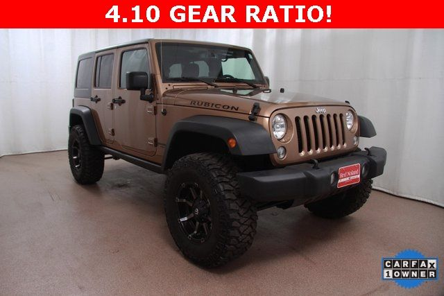 Pre-Owned 2015 Jeep Wrangler Unlimited Rubicon for more information; 719.493.5826