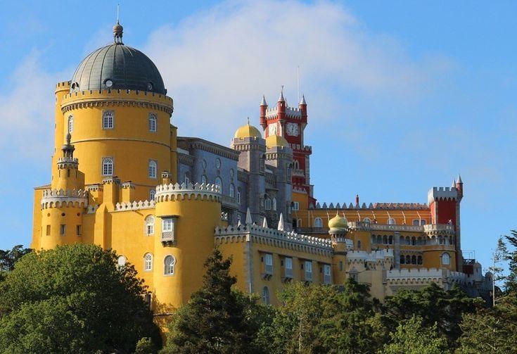 Pelacio de Pena, Sintra, Portugalsko
