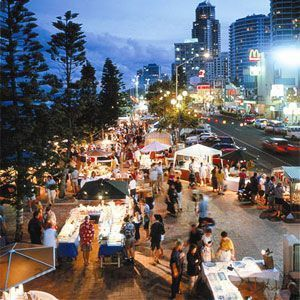 From fresh fruit to creative crafts, markets are often the hub for all things hearty, homemade and honest, and when combined with the Gold Coast's signature surf and sunshine, these are the perfect family friendly destination for a morning shop or post dinner stroll.