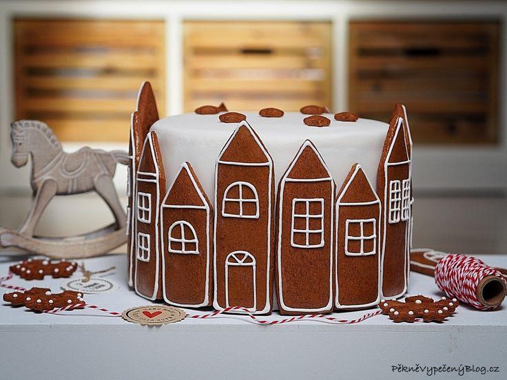 Perníkový dort (gingerbread)